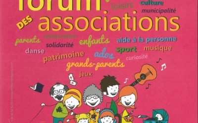 Forum des associations – samedi 9 septembre